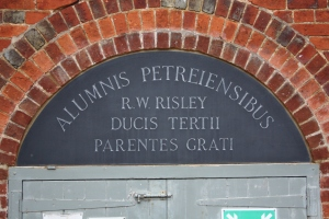 The Risley Plaque