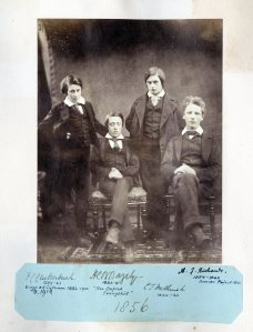1856 Henry Bazeley - seated second left 1856